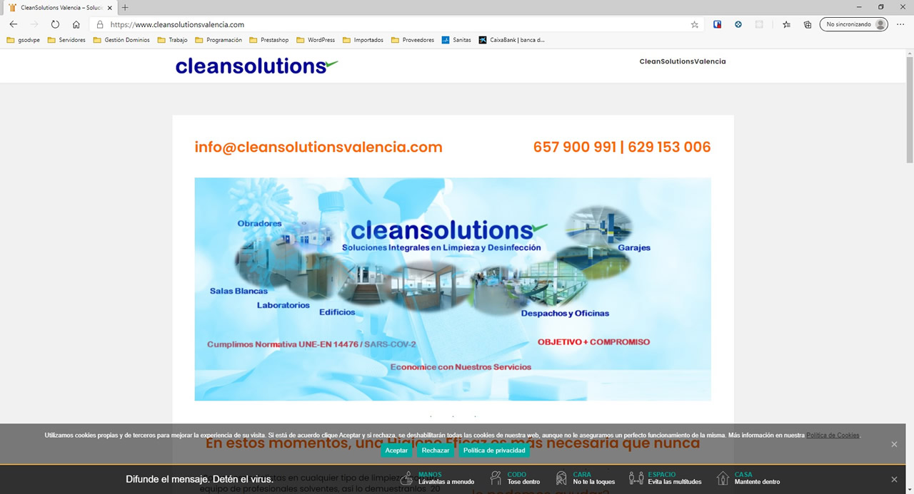cleansolutionsvalencia.com
