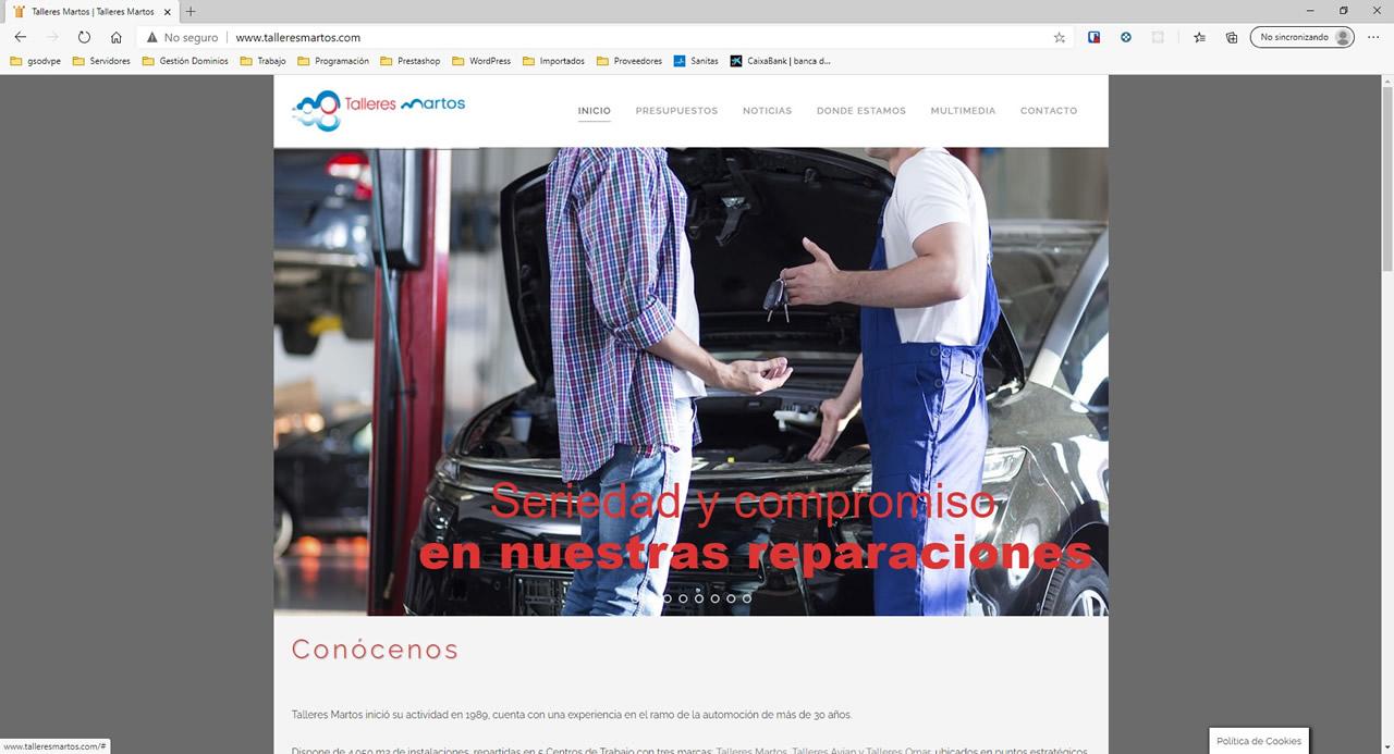 talleresmartos.com